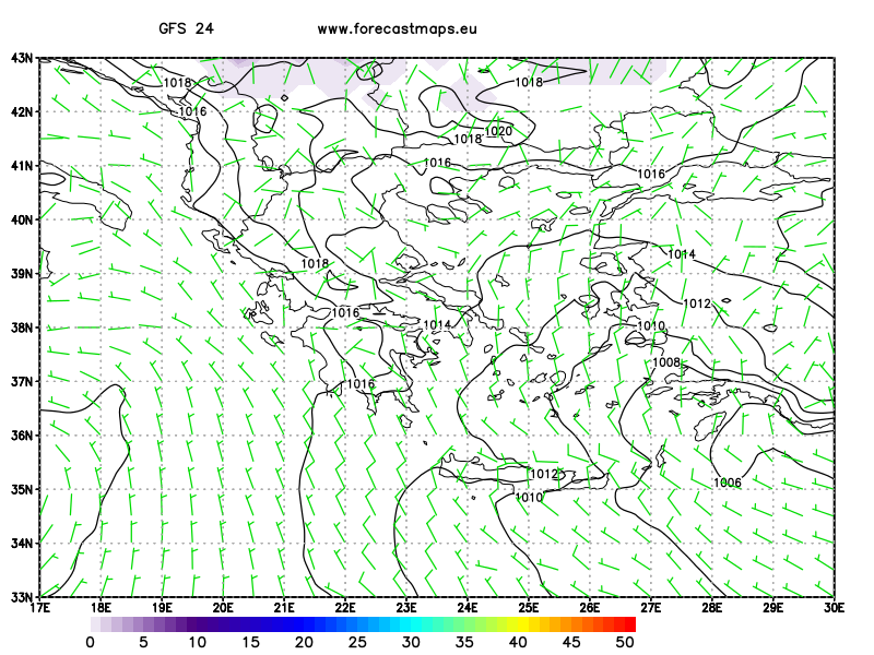 Greece  GFS